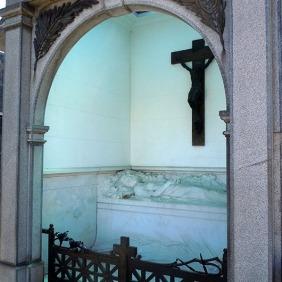 Luz María García Velloso - Recoleta cemetery