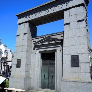 The Alvear family vault - Recoleta, Buenos Aires