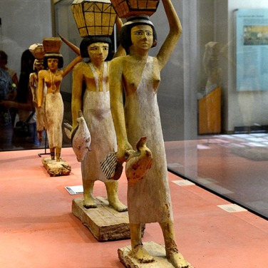 Statues of offering Bearers - 1950 BC