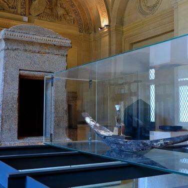Procession Boat Of Goddess Anukhet - Louvre