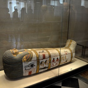 Sarcophagus of Madja - Musee du Louvre - egyptian antiquities