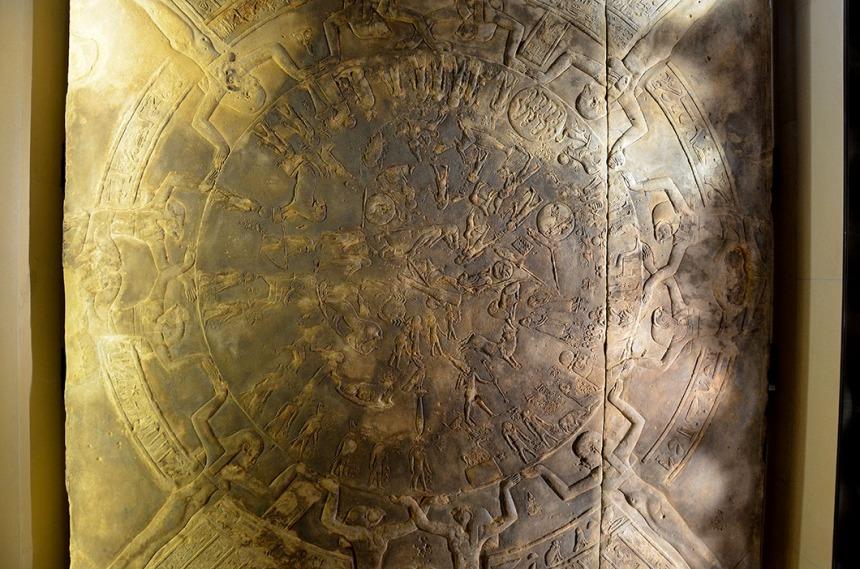 Dendera Zodiac - Musee du Louvre