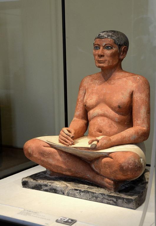 The Seated Scribe of Saqqara
