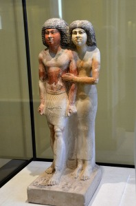 Statue of Raherka and his wife Meresankh