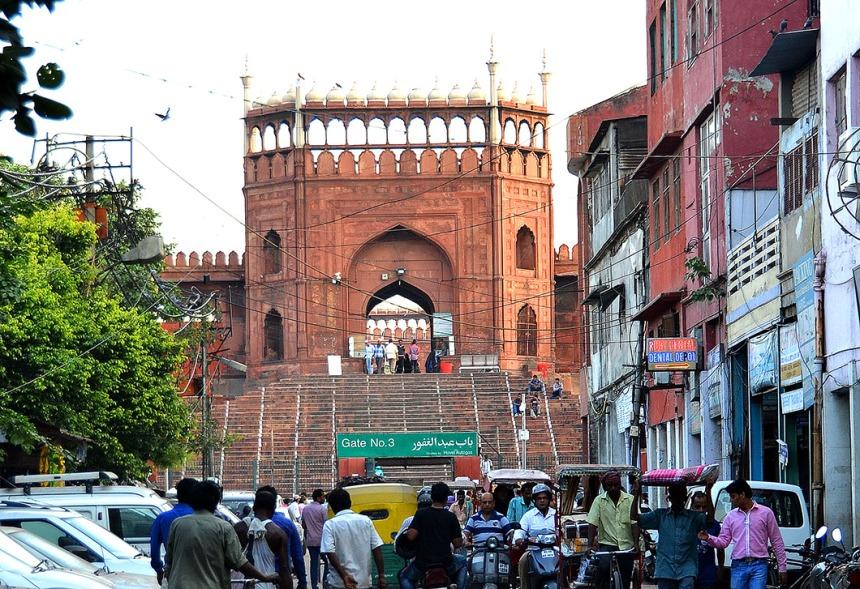 Main entrance to Jama Masjid