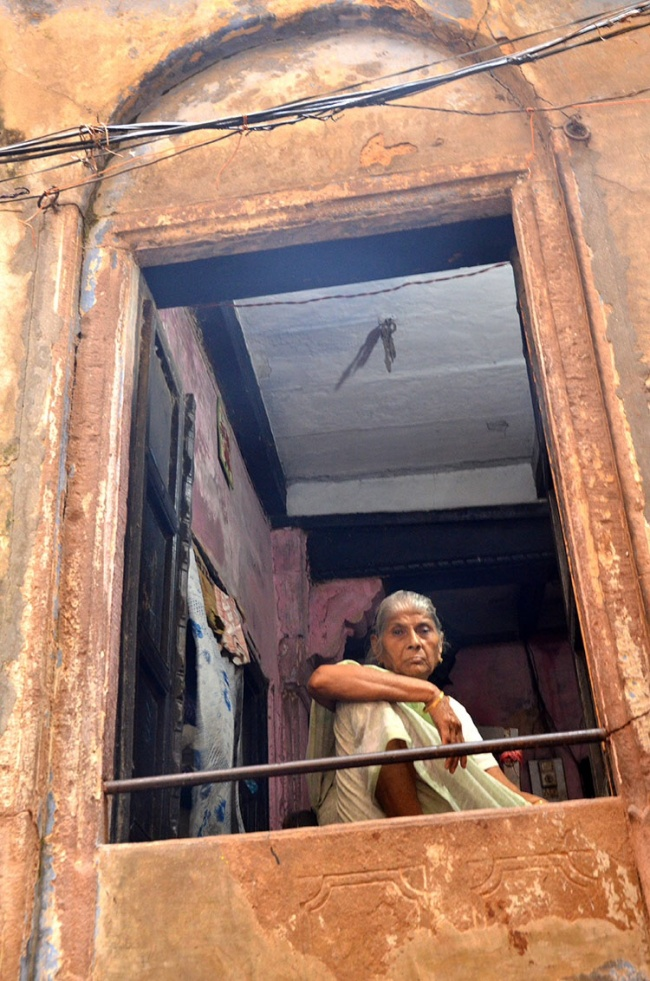 Old lady - Varanasi
