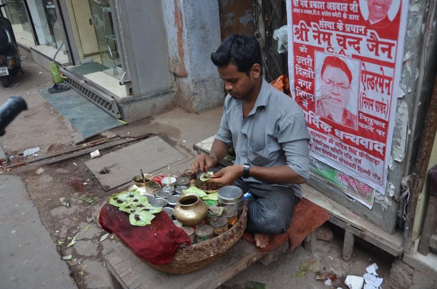 Paan seller - Old Delhi