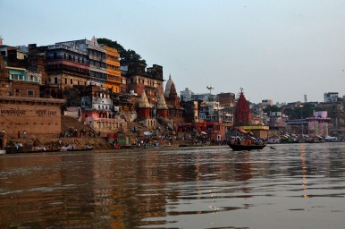 Dawn boatride, Varanasi