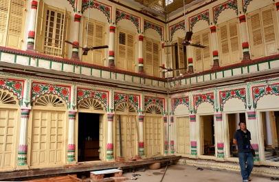 Colourful Mansion, Varanasi