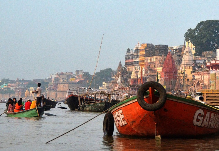 Sunrise on the Ganges, Varanasi