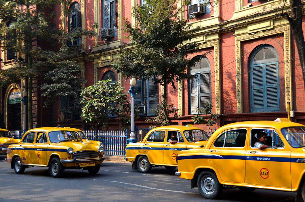 Yellow cabs , Kolkata