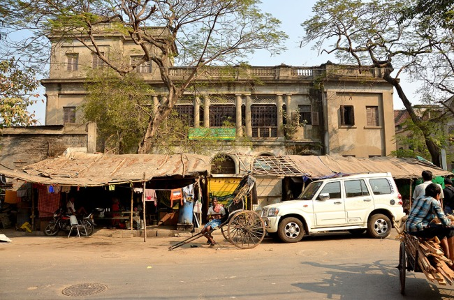 Street scene, Calcutta