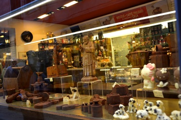 Chocolate boutique, Venice