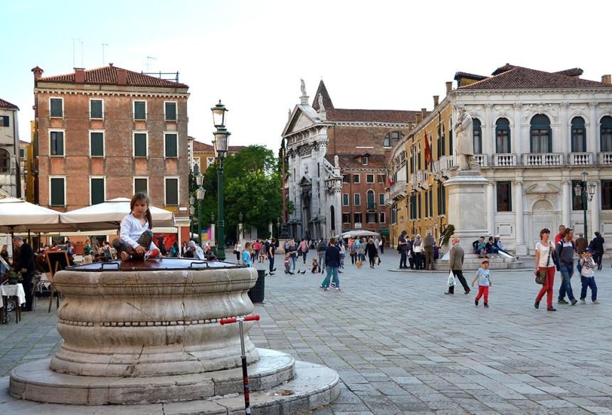 Venice - Campo Santo Stefano