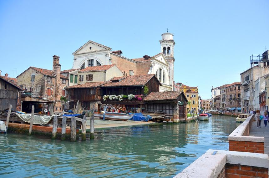 Venice - Campo San Trovaso