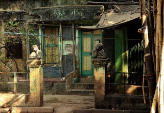 Gate posts - Calcutta