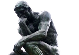 The Thinker - Rodin Museum, Paris