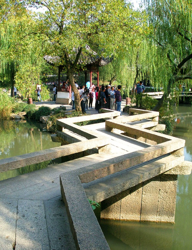 Bridge - Humble Adminstrators Garden, Suzhou