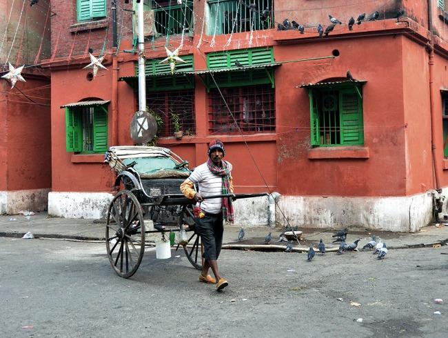 Rickshaw Puller, Kolkata