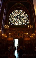 Rose Window - Saint Chapelle, Paris