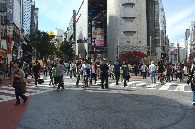 Shibuya intersection, Tokyo