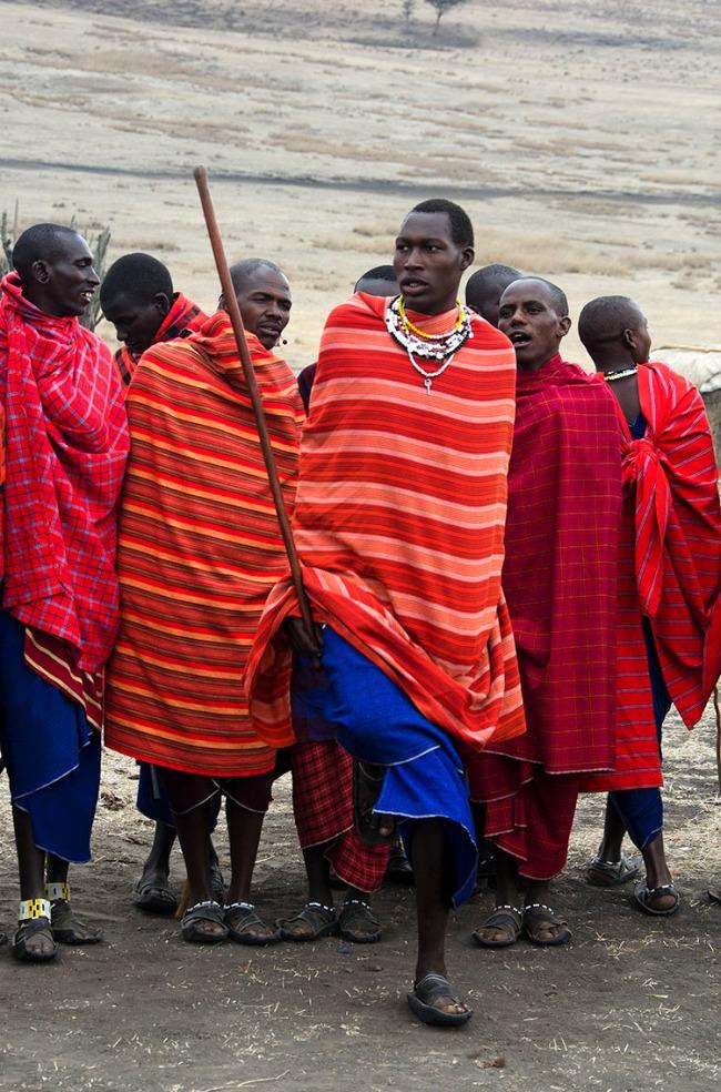 Masaai dance - Ngorongoro Conservancy, Tanzania