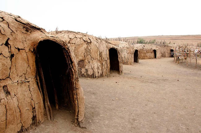 Masaai huts
