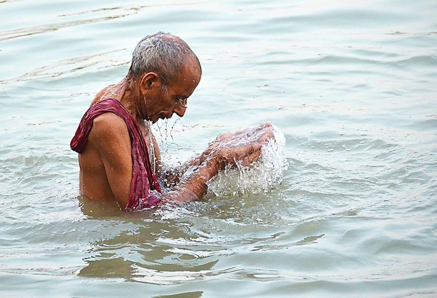 Ablutions - Kolkata, India