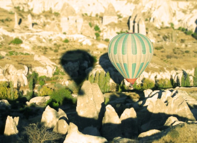Balloon ride over- Cappadocia - Turkey