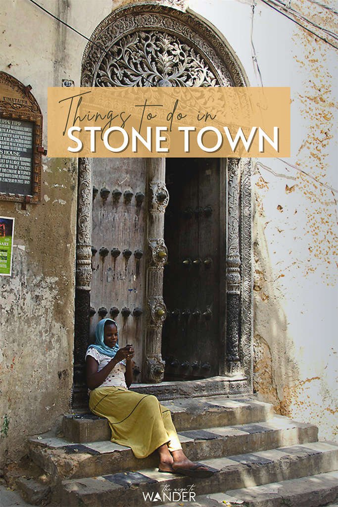 Young girl on the steps of slave trader Tipu Tip's residence. Stone Town, Zanzibar, is most fascinating. Immerse yourself in its exotic vibe with this detailed travel guide featuring the very best things to do in Stone Town.