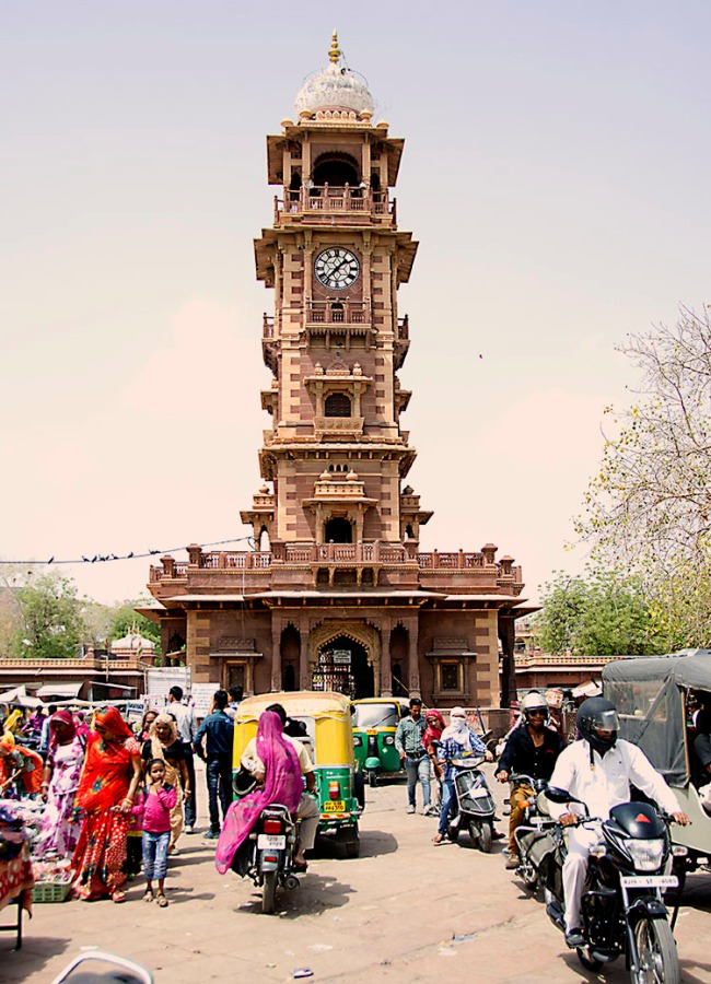 Clock Tower -  Jodhpur, India