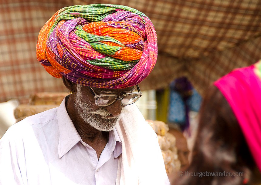 Turbanned man in Jodhpur