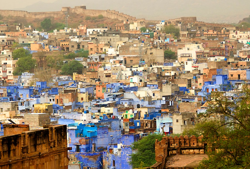 Blue houses of Jodhpur