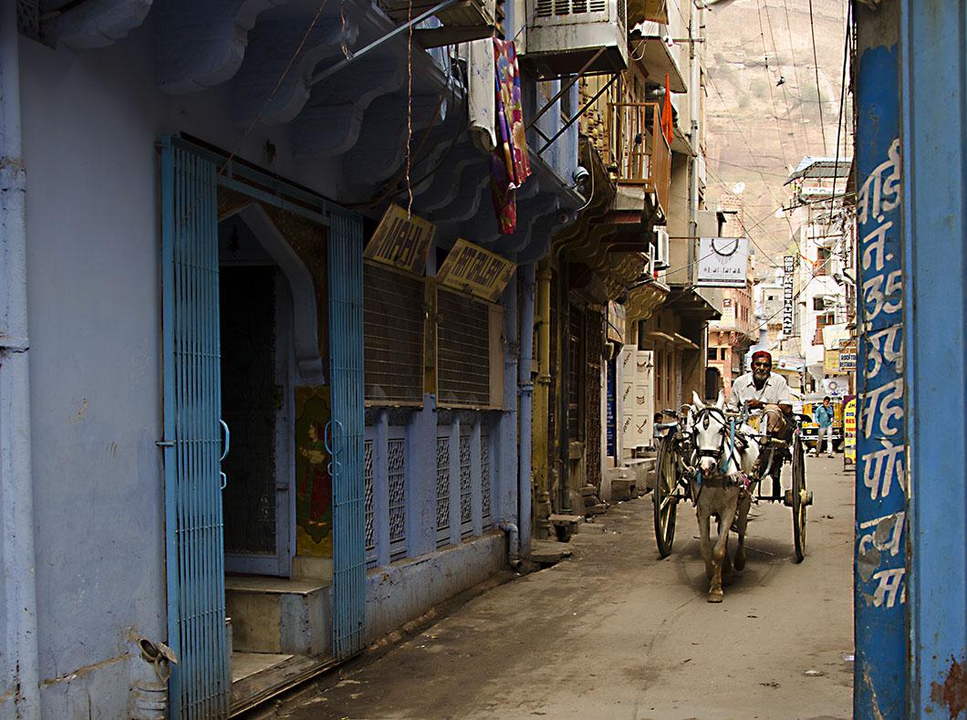 Jodhpur alleyway