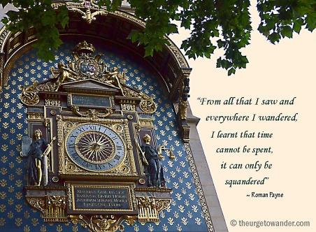 The Conciergerie clock, on the corner of boulevard du Palais and the Quai de l'Horloge, is the oldest public clock in Paris