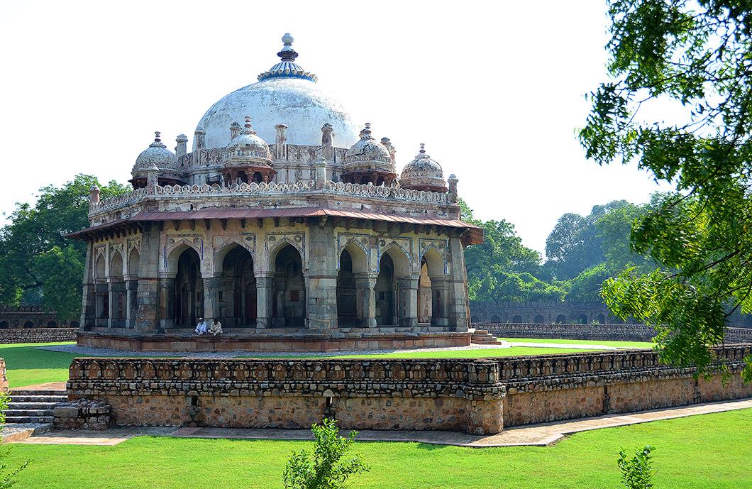 Isa Khna's tomb, Delhi