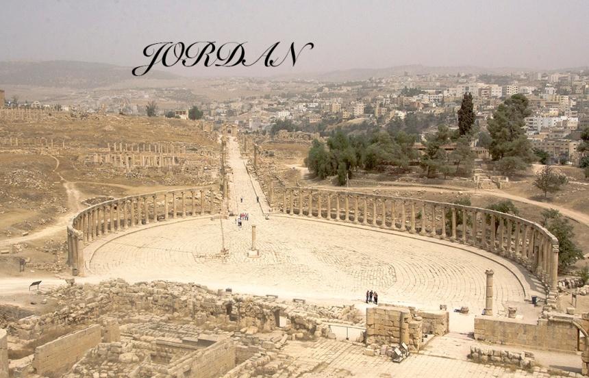 Oval Plaza in Jerash