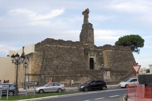 Elcano Monument in Getaria, Spain
