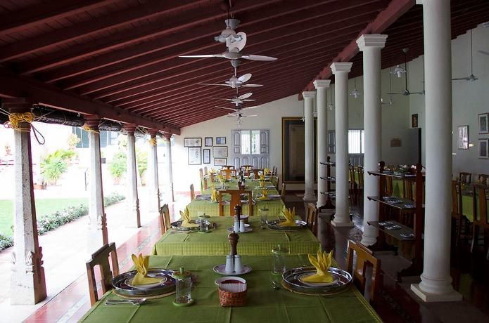 A Chettinad palace hotel