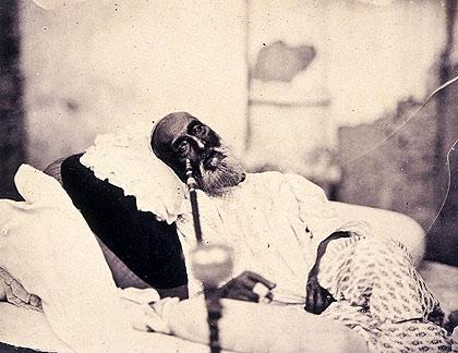 Bahadur Shah Zafar II just before his exile to Rangoon ( Image courtesy Wikipedia)