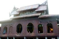 Shwe Yan Pyay teak monastery, Nyaungshwe
