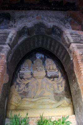 The Hindu temple of Nat-Hlaung-Kyaung in Bagan
