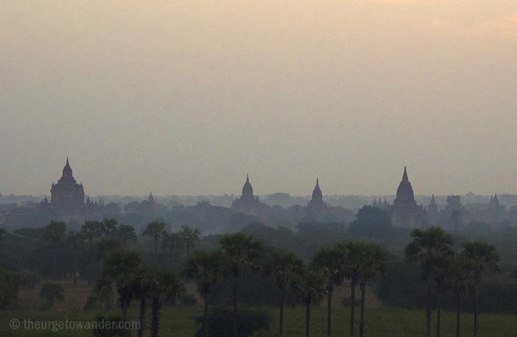 Dawn over Bagan