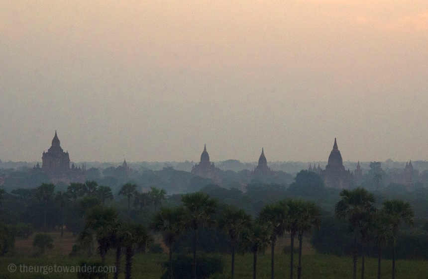 Dawn over Bagan