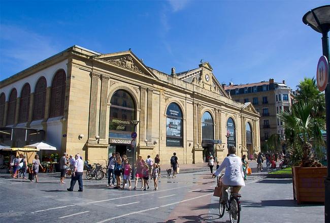 Mercado de la Bretxa, San Sebastian