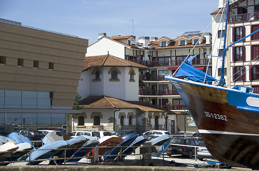 Marina- Hondarribia, Spain