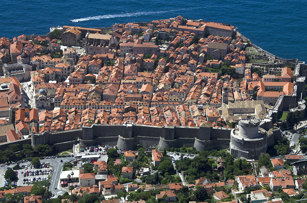 Dubrovnik - View from Srd hill