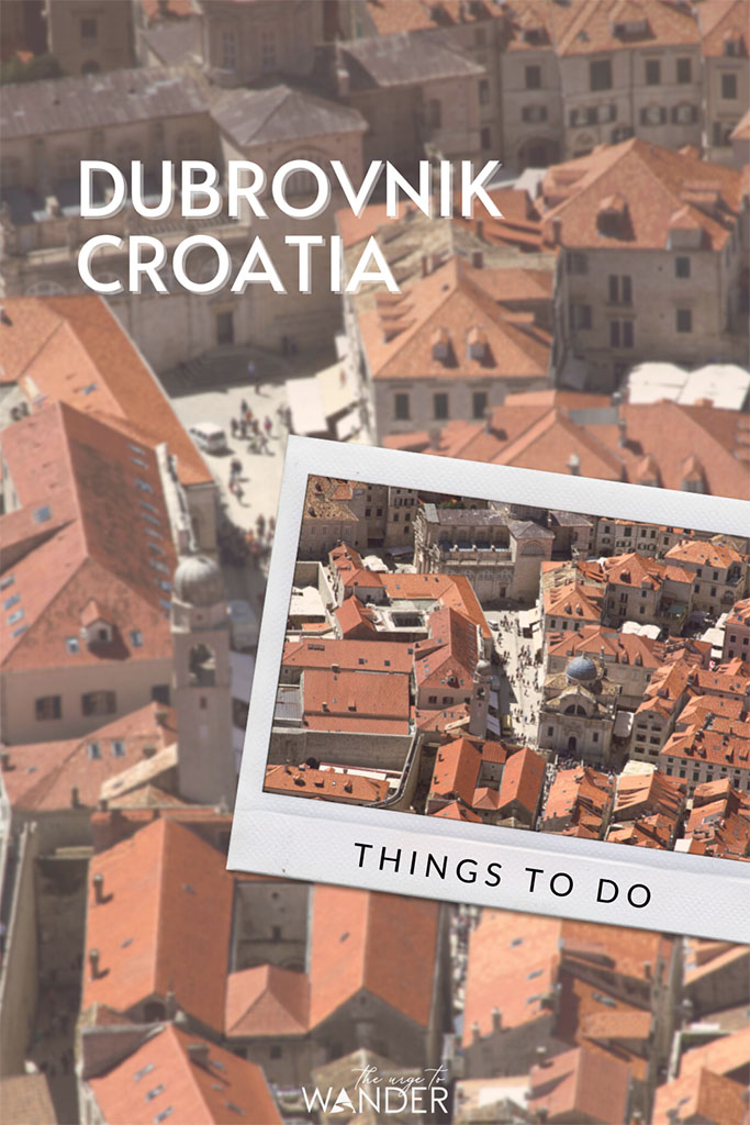 Aerial view of Dubrovnik, Old Town. Guide to the very best things to do in Dubrovnik Old Town: How to walk the walls, amazing views and restaurants and detailed travel tips.
