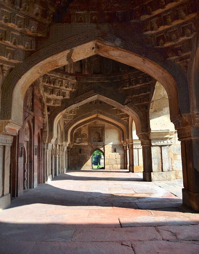 The Jama Masjid in Lodhi Garden, Delhi