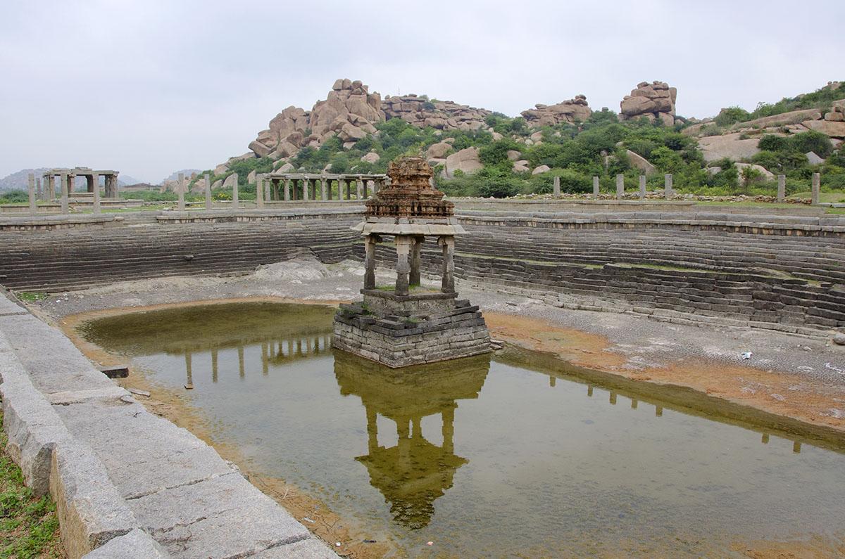 Temple Tank, Vittala Temple